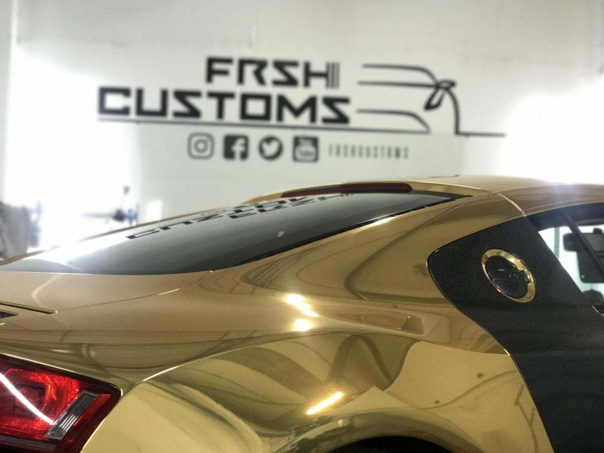 Car wrapping by FRSH Customs