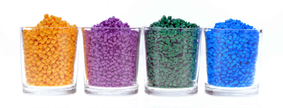 PVC pellets are easy to transport and can be mixed