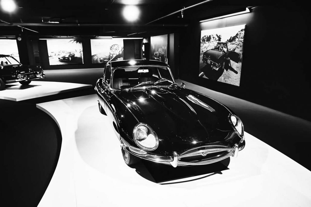 E Type Jaguar from the 1960s